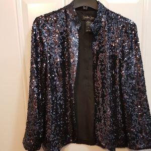 London Jean's Sequin Jacket